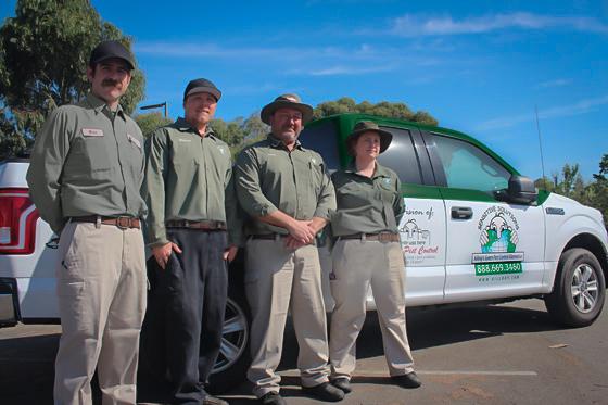 Killroy Pest Control Team