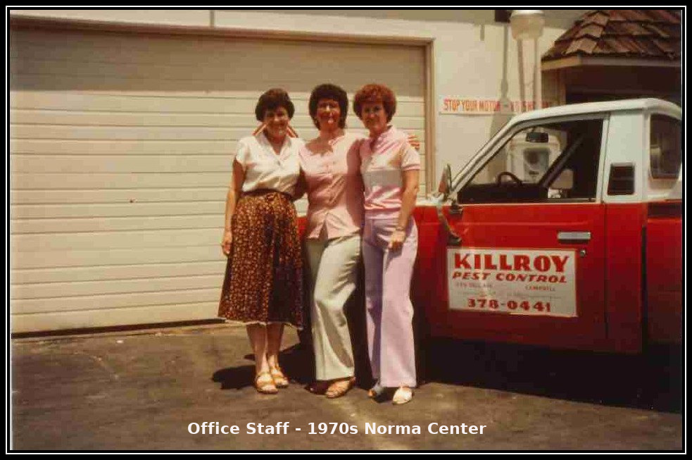 The Killroy Pest Control Family